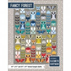 Fancy Forest Pattern by Elizabeth Hartman