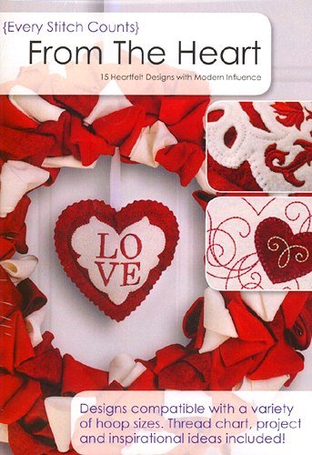 ESC From The Heart Embroidery Design CD