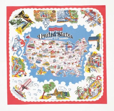 American Wonderland Tablecloth