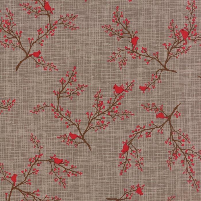Return to Winter's Lane Cardinals Taupe 13172 13