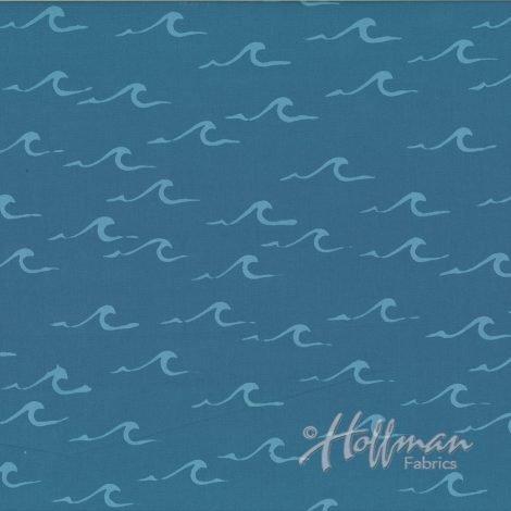 Hand Dyed Batiks Waves Bluff 143-511