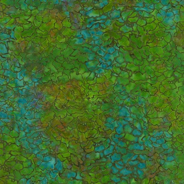 Jinny Beyer Best of Malam Batiks Blue/Green 1766-009