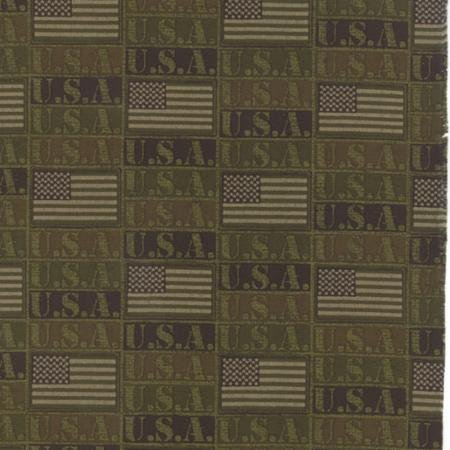Because of the Brave Flags Army Green 32953 15