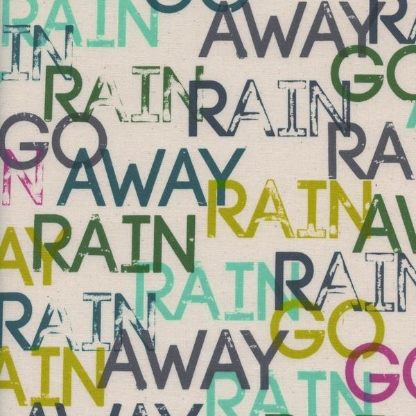 Raindrop Rain Rain Go Away Sun Shower by Rashida Coleman-Hale Cotton + Steel