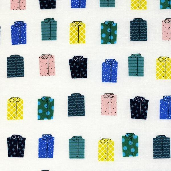 Kujira Whales Don't Wear Shirts Sand Dollar R1946-002 Cotton + Steel by Rashida Coleman-Hale