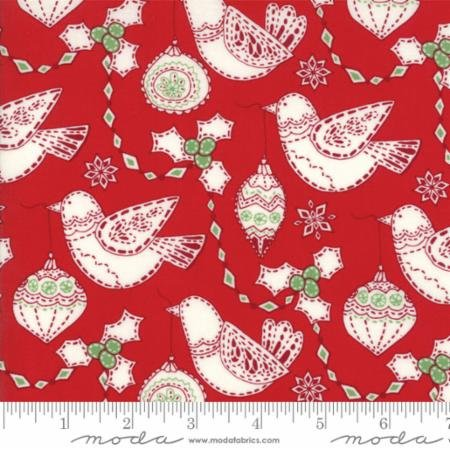 Merry Merry Christmas Garland Ribbon 27273 13