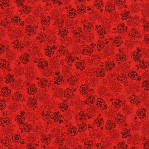 Sugar Berry Playful Posies Radiant Ruby Metallic 3375-002