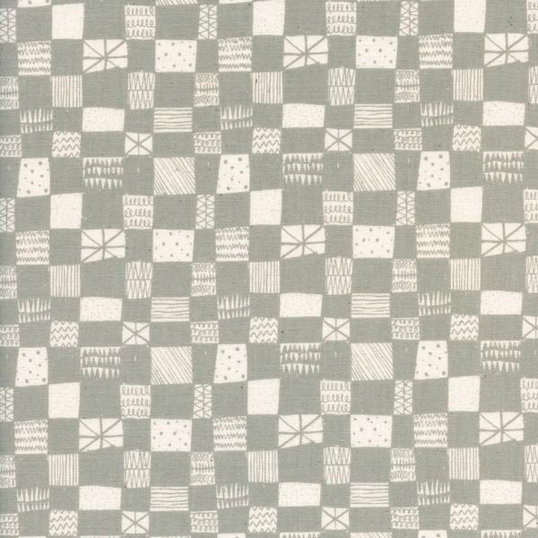 Print Shop Grid Grey by Alexia Marcelle Abegg Cotton + Steel