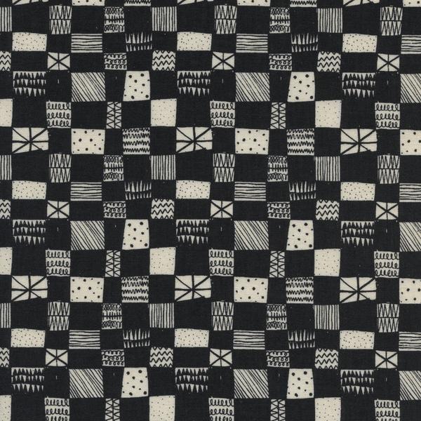 Print Shop Grid Dark Charcoal by Alexia Marcelle Abegg 4037 004