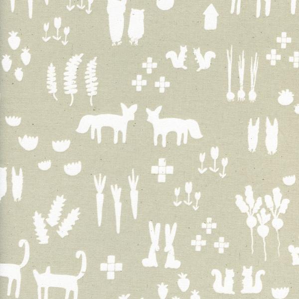 Print Shop This & That Linen by Alexia Marcelle Abegg Cotton + Steel