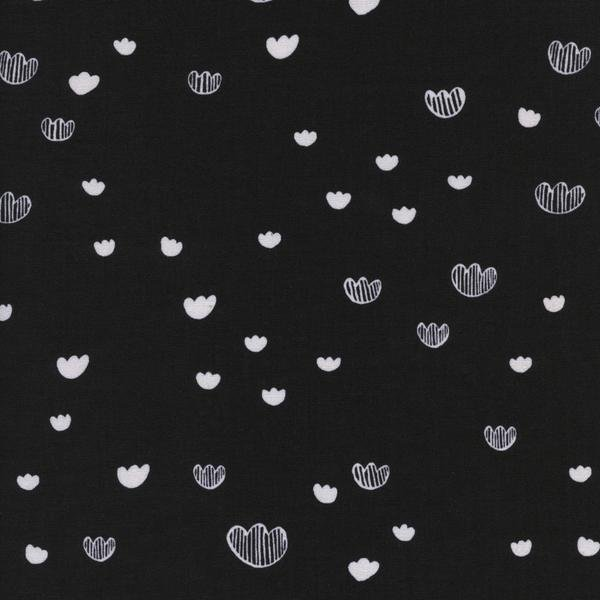 Print Shop Meadow Midnight by Alexia Marcelle Abegg Cotton + Steel