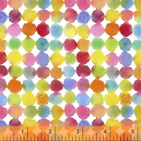 Rain or Shine Rainbow Dots  Multi 51648-X