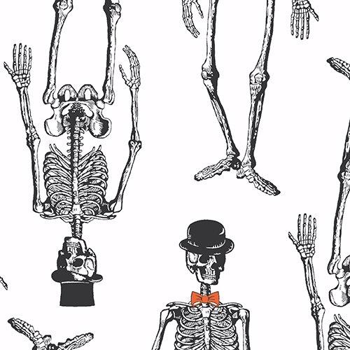 Chillingsworth Spooky Ride Skeletal Gentlemen Cream