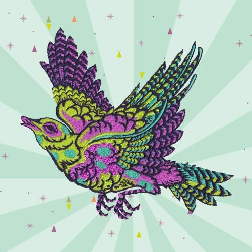 Imaginary Menagerie Embroidery Design CD by Tula Pink