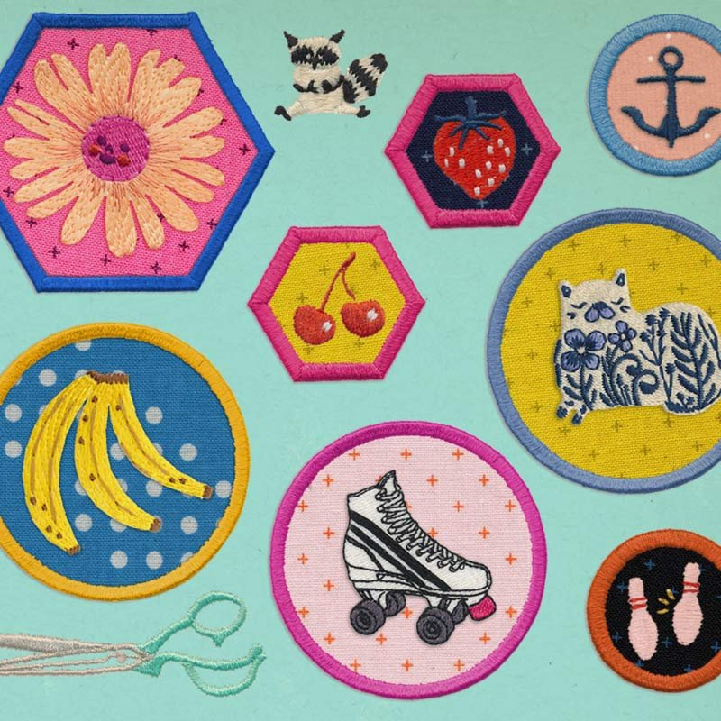 Scout by Cotton + Steel Machine Embroidery Designs CD
