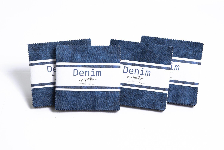 Denim Charm Pack Jinny Beyer  9652-506