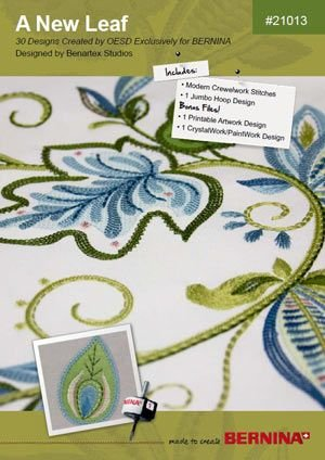A New Leaf BERNINA Exclusive Embroidery Design CD