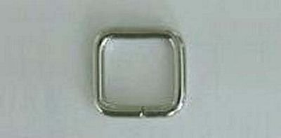 Rectangle Rings 13/16 Silver AK515S