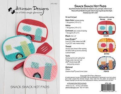 Snack Shack Hot Pads