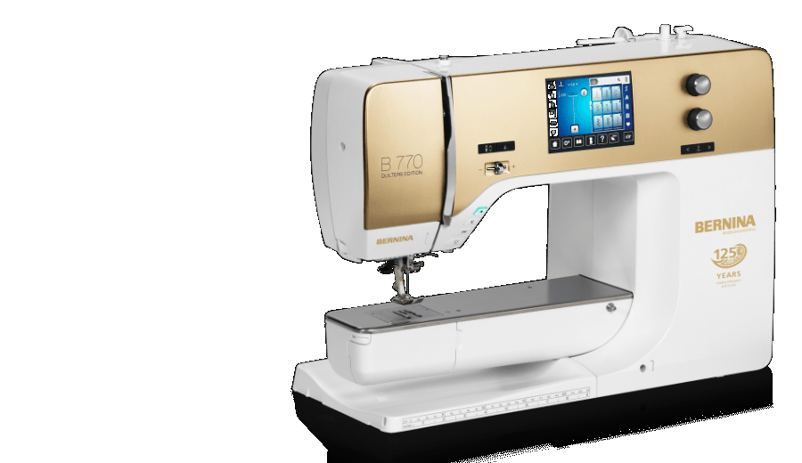Bernina 770 Quilter's Edition Special Anniversary Gold BSR Standard