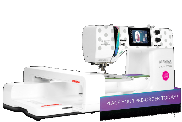 BERNINA 570 Next Gen Tula Pink Special Edition