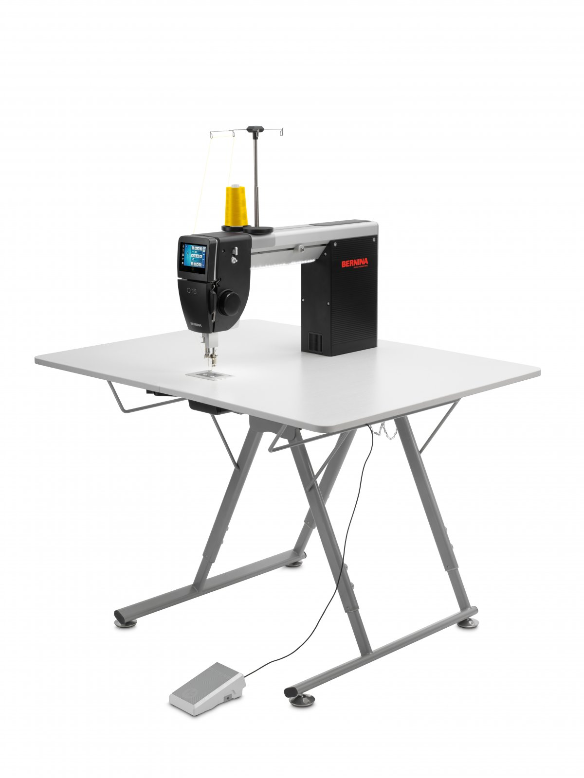 Bernina Q16 Long Arm Quilter with Adjustable Foldable Table