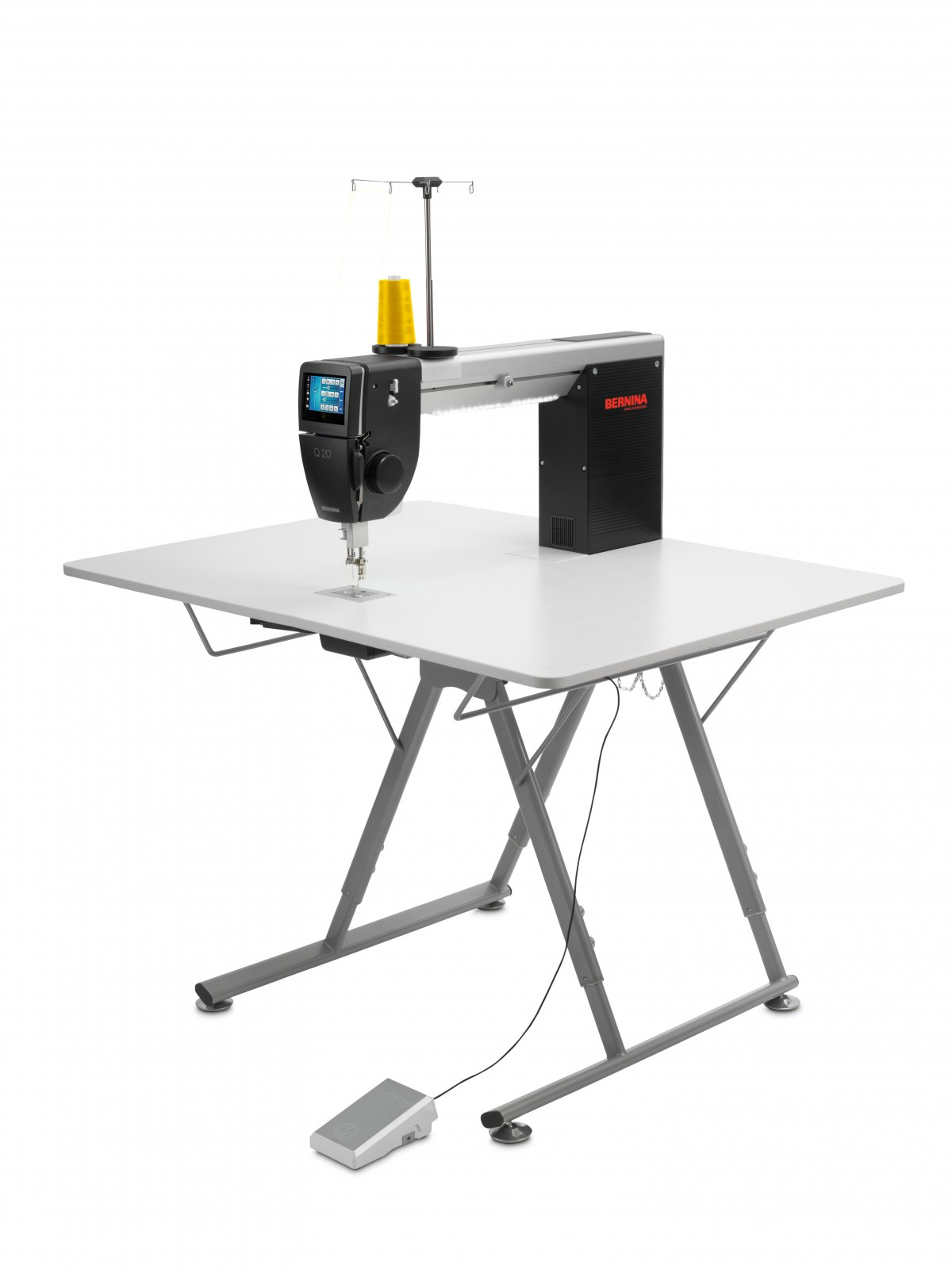 BERNINA Q20 Long Arm Quilter with Folding Table