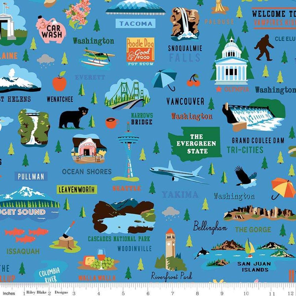 Northwest Washington Main Blue