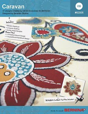 Caravan BERNINA Exclusive Embroidery Design CD