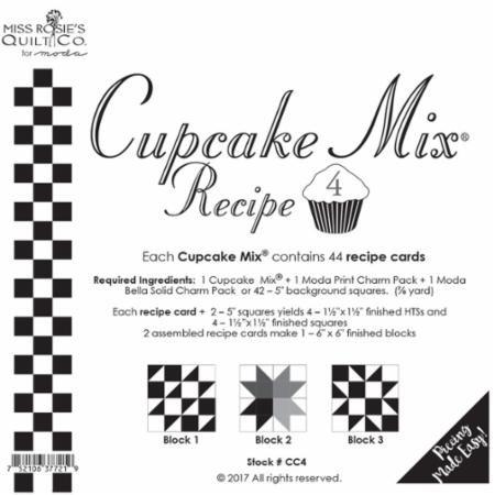 Cupcake Recipe 4 44ct CC4