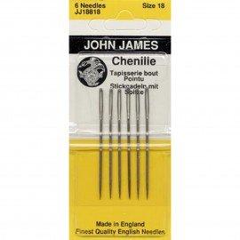 John James Chenille Needles Size 18
