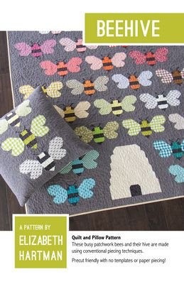 BeeHive Quilt Pattern by Elizabeth Hartman
