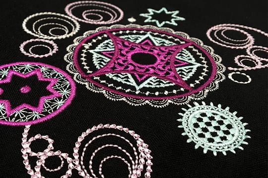 Celeste BERNINA Exclusive Embroidery Design USB