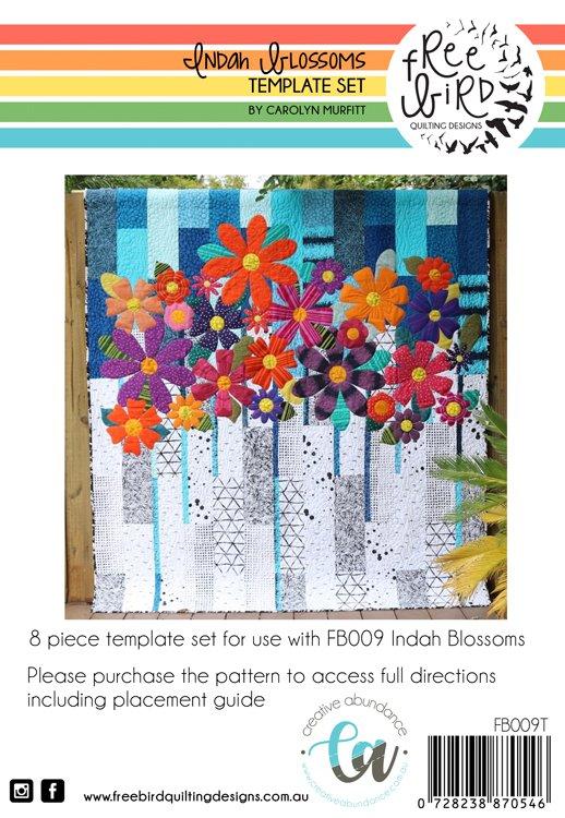 Indah Blossoms Acrylic Template Set