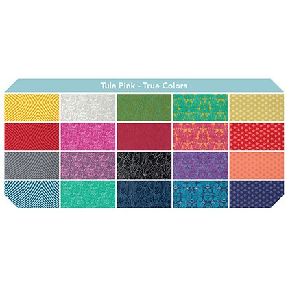 Tula Pink's True Colors Fat Quarters Set of 20