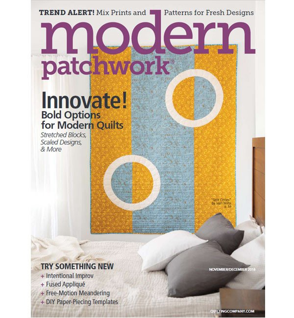 Modern Patchwork Magazine November/December 2018
