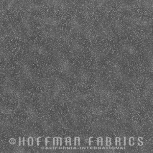 Brilliant Blender Charcoal/Silver Hoffman Speckle Dots G8555-55S
