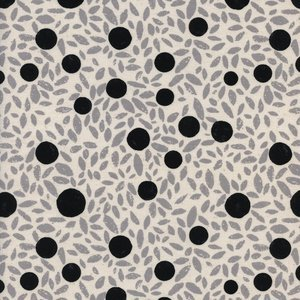 Grove Natural Black & White Cotton + Steel C5123-001