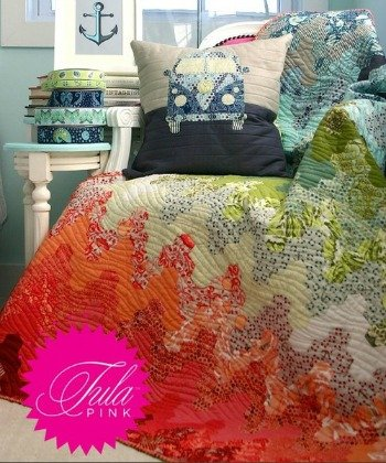 Hex on the Beach Quilt Kit by Tula Pink - 0 : tula pink quilt kits - Adamdwight.com