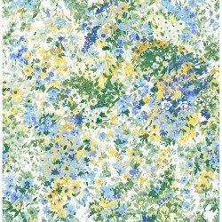 Garden Delights Blue Floral IBFGDE3GSE-2
