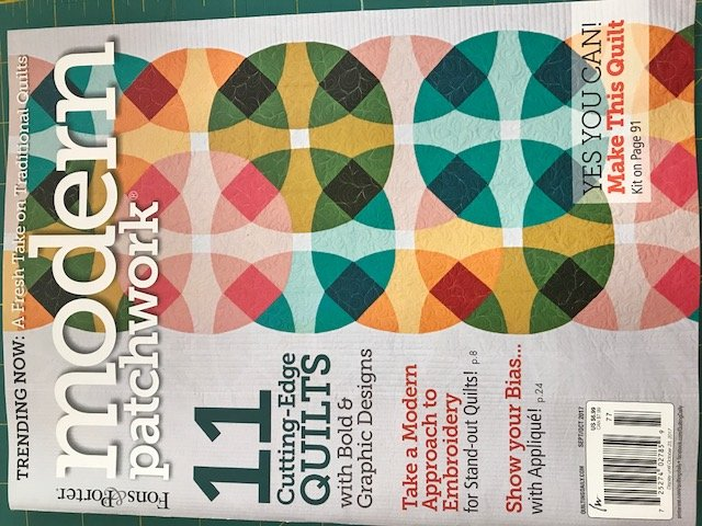 Modern Patchwork Magazine September/October 2017
