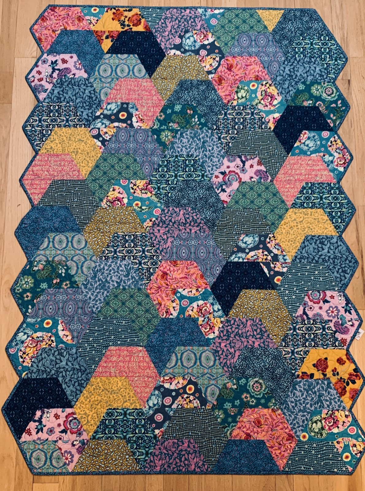 Splash Quilt Kit 49 x 68
