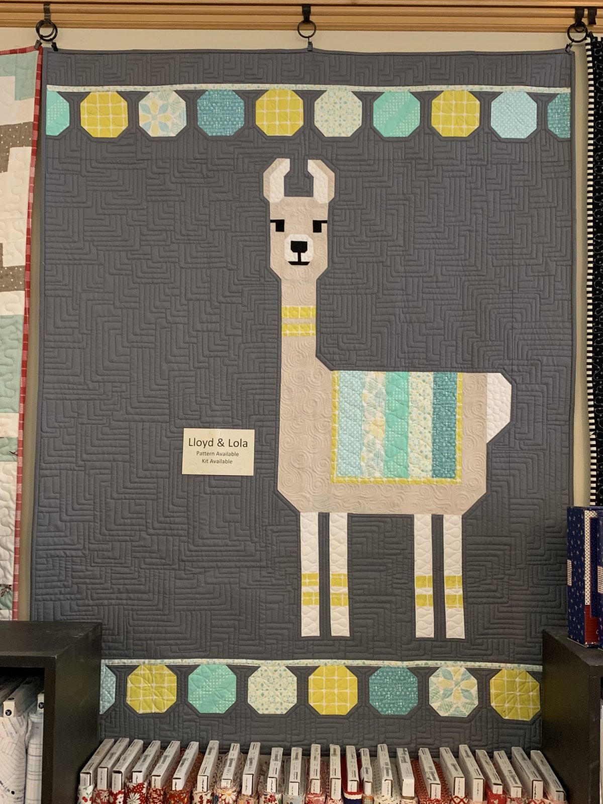Lloyd & Lola Quilt Kit 45 x 60