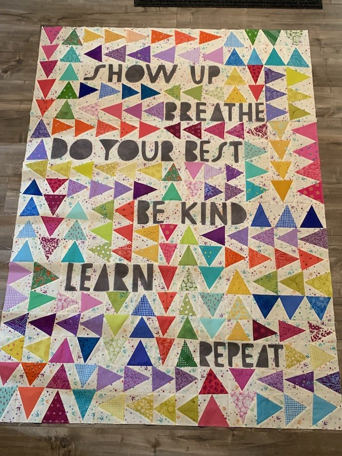 Show Up Quilt Kit Lap Size 50 x 70