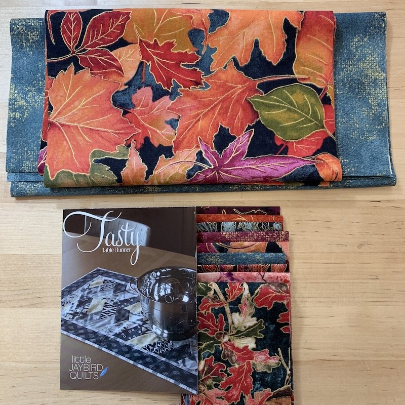 Tasty Autumn Table Runner