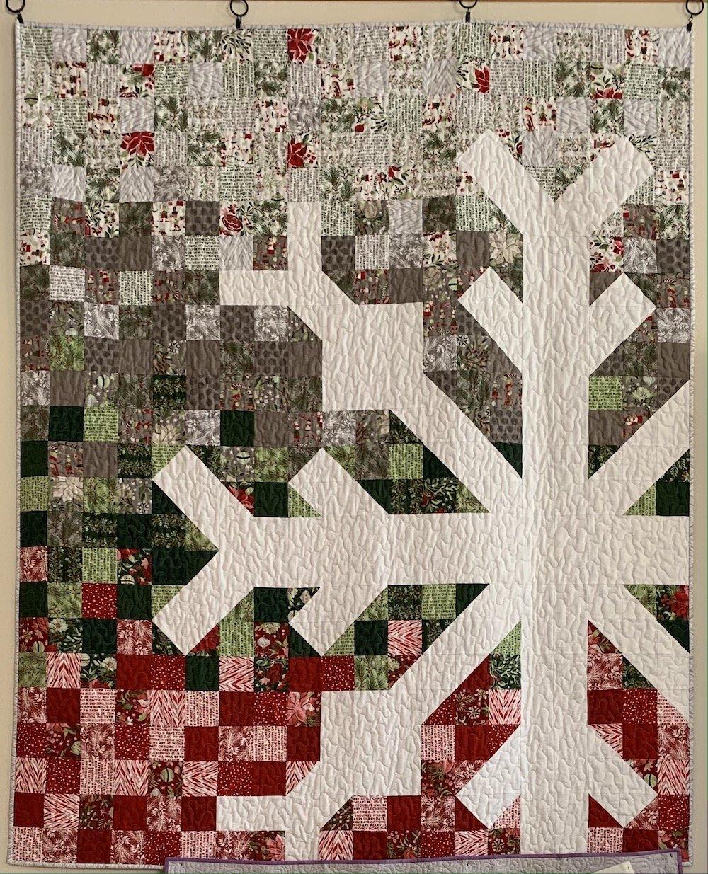 Snowflake Quilt Kit 60 x 72