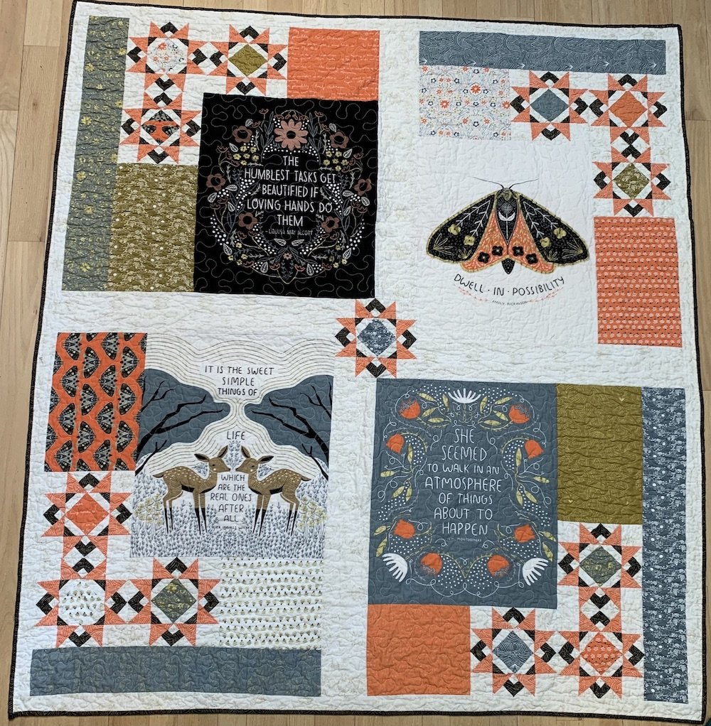 Dwell In Possibility Quilt Kit 61 x 69
