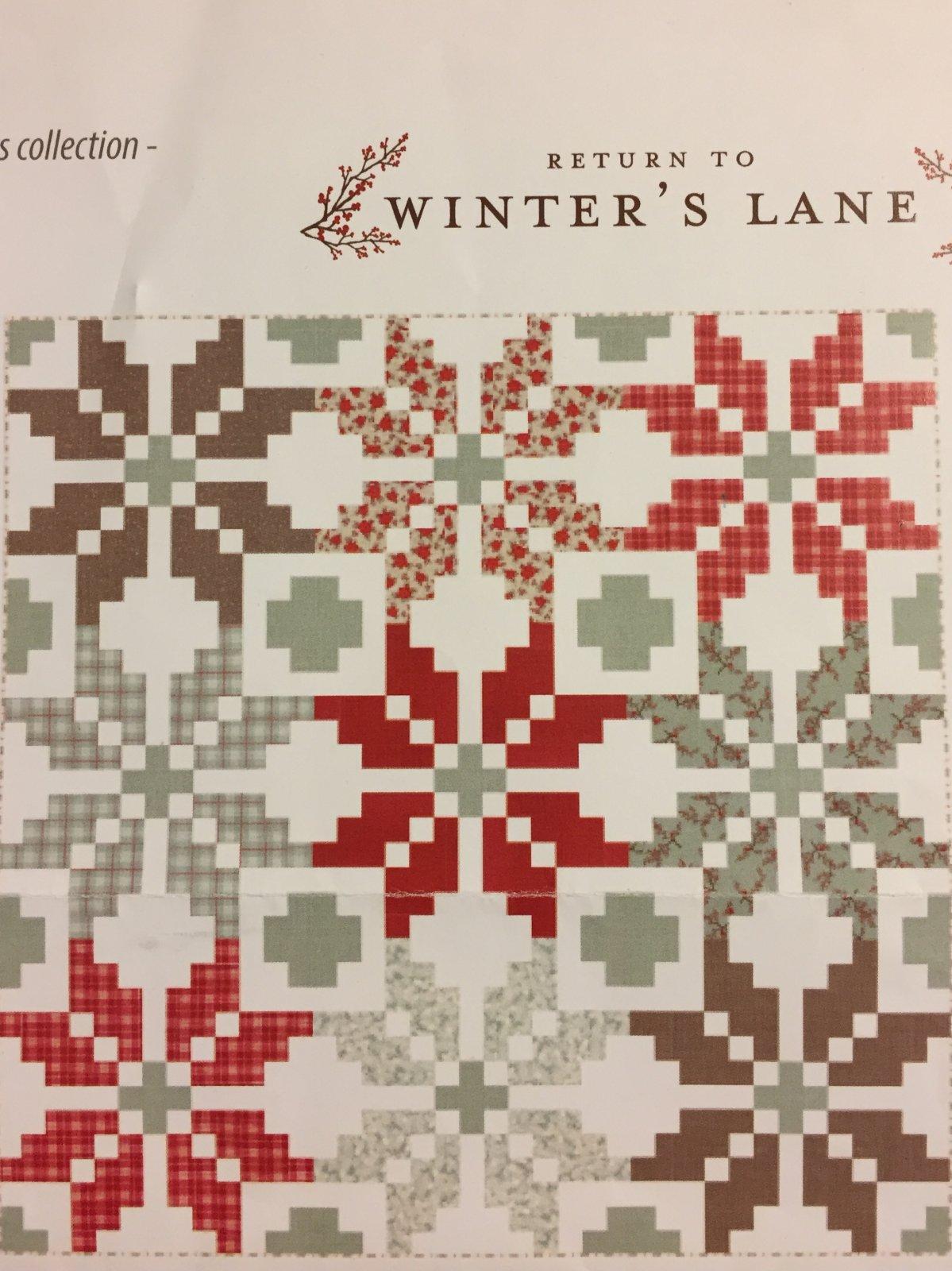Norway Kit Return to Winter's Lane 78 x 78