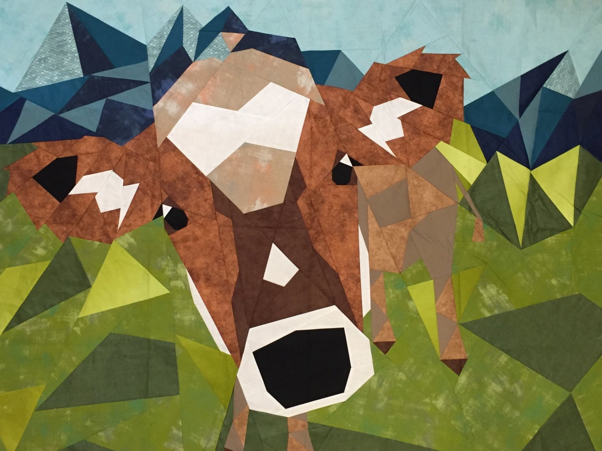 Cow Abstractions Kit 54 x 62