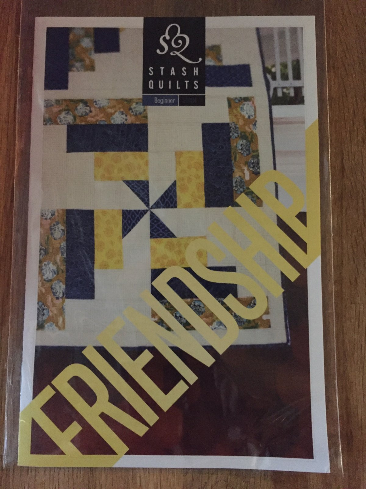 The Friendship Quilt by Stash Quilts